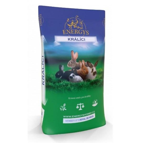 Krmivo Energys pro králíky START granulované 10kg