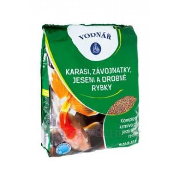 Krmivo pro ryby KARASI, ZÁVOJ,JESENI a malé rybky 0,5 kg
