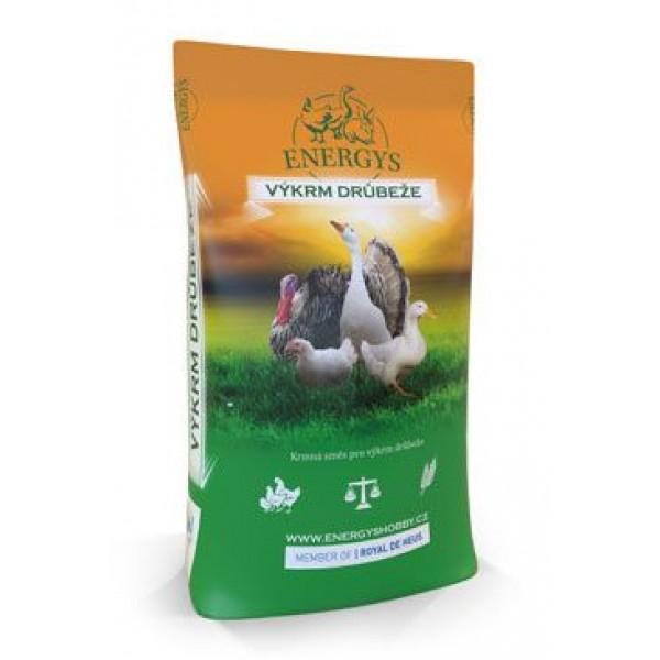 Krmivo Energys BROILER MAXI granulované 25kg