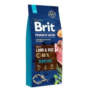 Brit Premium Dog by Nature Sensitive Lamb 8kg
