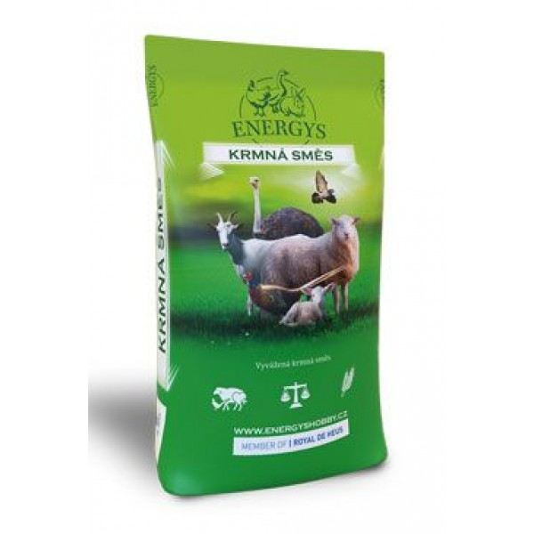 Krmivo Energys pro pštrosy MAXI granulované 25kg