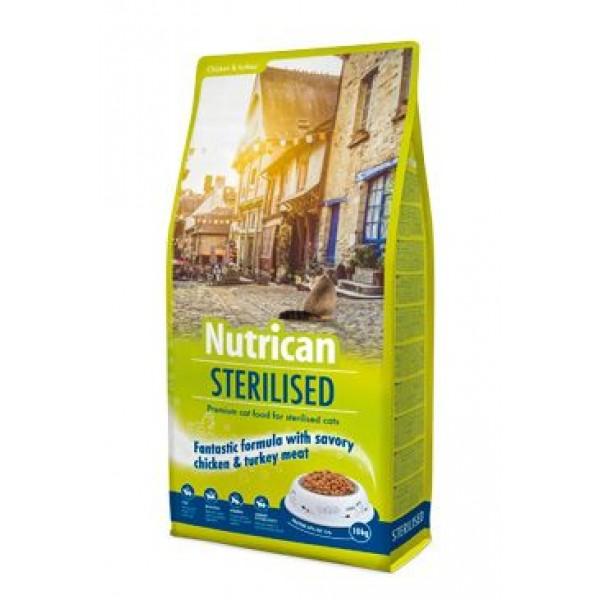 NutriCan Cat Sterilised 10kg