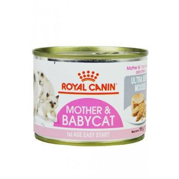 Royal Canin Feline Babycat  195g konzerva