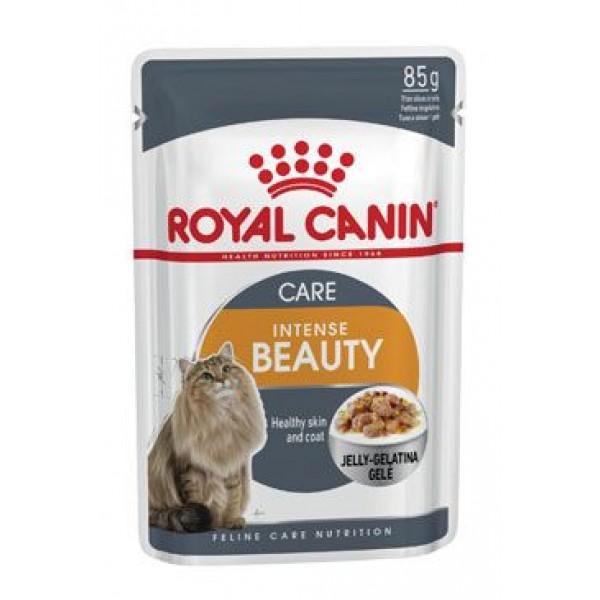 Royal Canin Feline Intense Beauty kapsa, želé 85g