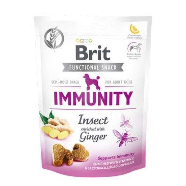 Brit Care Dog Functional Snack Immunity Insect 150g
